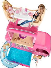 196 Best Barbie Dream House Amazon Com Barbie Pop Up Camper Vehicle Toys U0026 Games