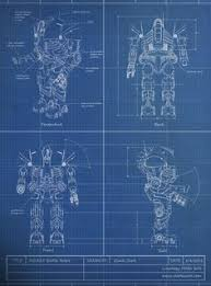 a blueprint is a reproduction of a technical drawing documenting