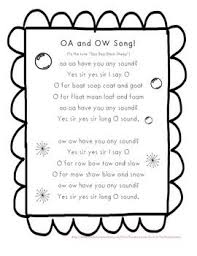33 best long o ow ou oa images on pinterest teaching ideas