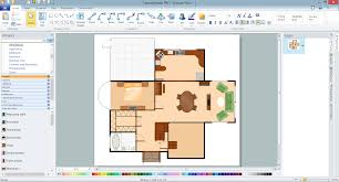 dimensioned floor plan home architect software plan examples in conceptdraw pro for pc