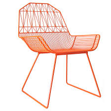 Orange Chair Bend Seating Farmhouse Lounge Chair Lounge Chairs