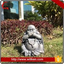 home outdoor garden decoration fiber buddha statue for sale