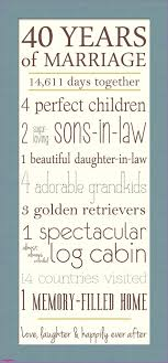 40th wedding anniversary gifts awesome 40th wedding anniversary gifts enticing wedding gifts