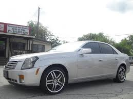 2005 cadillac cts wheels 2005 cadillac cts only 69 000 silver on black chrome