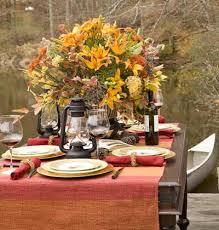 thanksgiving dinner outdoors themontecristos