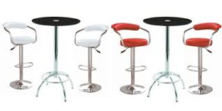 glass pub table and chairs stoolsonline bar kitchen counter and chrome breakfast bar stools