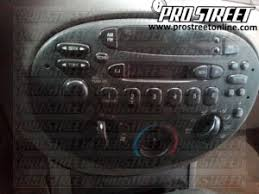ford escort stereo wiring diagram my pro street