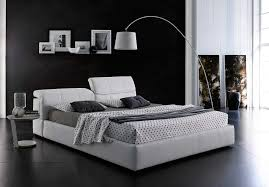 Platform Bed White Modern Grey Platform Bed With Storage Mj087 Contemporary Bedroom