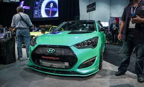 2013 hyundai veloster turbo automatic fox marketing s veloster turbo completes hyundai s sema lineup