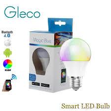 light bulbs controlled by iphone new magic blue 4 5w e27 rgbw led light bulb bluetooth 4 0 smart