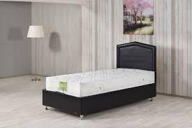 Platform Bed Twin Black Casa Rest Platform Bed W Headboard Dragon Black Leather Textile