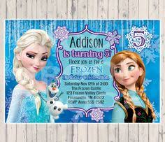 frozen birthday disney iron on transfer anna elsa digital