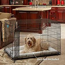 black friday dog crate amazon com midwest life stages folding metal dog crate pet