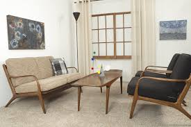 danish modern living room set midmod decor