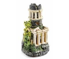 classic biorb aquarium ornament tower 10 5 inch gardensite