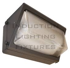iwp100 100w induction light wall mount wall pack light fixture for
