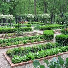 english vegetable garden design