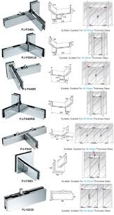 patch fitting glass door china wholesale price stainless steel patch fitting hardware door