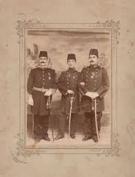 Ottoman Brothers Four Ottoman Brothers Who Sent Their Photo To Sultan Abdulhamid Ii