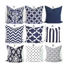 24x24 Decorative Pillows Navy Blue Pillows 24x24 Inch Decorative Pillow Cover Home Decor
