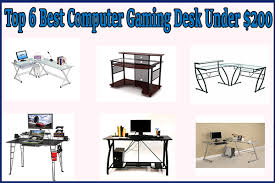 Gaming Computer Desk Top 6 Best Computer Gaming Desk Under 200 A Buying Guide