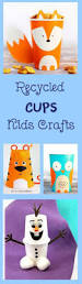 recycled cups kids crafts cheer and cherry