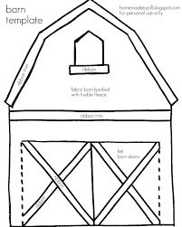 barn coloring pages eson me