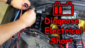 how to find short circuit in your car truck youtube