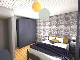 idee tapisserie chambre adulte couleur papier peint chambre adultes avec idee tapisserie chambre