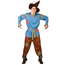 the wizard of oz wizard costume scarecrow oz mens fancy dress costume fairytale wizard s xl
