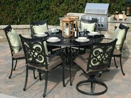 patio ideas white cast aluminum patio furniture white cast