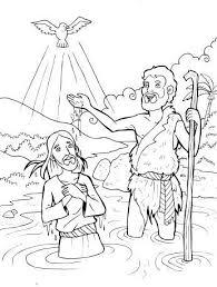 298 baptism jesus images sunday