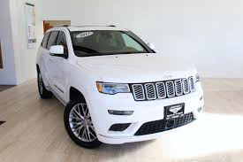 jeep summit black 2017 jeep grand cherokee summit stock p922855 for sale near