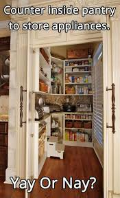 best 25 building a pantry ideas on pinterest pantries pantry i love this idea perfect for a place to store the slow cooker deep
