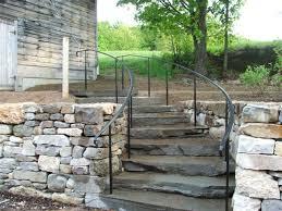 exterior stair railings unique shaped decoration fence