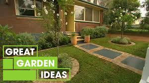 budget front yard makeover gardening great home ideas youtube
