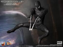 toys mms165 spider man black suit version