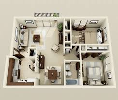 two bed room house best 25 1 bedroom apartments ideas on 2 bedroom