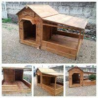 Rabbit Hutch From Pallets Rustic Pallet Dog House Bigdiyideas Com Pallet Dog House Dog