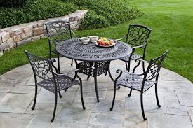 Wrought Iron Patio Furniture Vintage Wrought Iron Patio Table And Chairs With Cool Vintage Oval Wrought