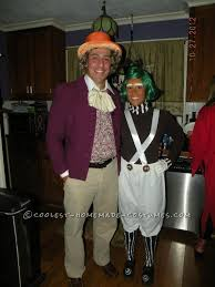 Oompa Loompa Baby Halloween Costume Homemade Halloween Couples Costume Willy Wonka Oompa