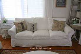 Cheap Sofa Cushions by How To Restuff Ikea Ektorp Sofa Cushions Cheap Easy And Quick
