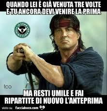 Rambo Meme - tutti i meme su rambo facciabuco com