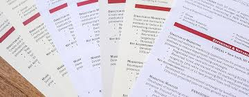 resume paper comparison resume genius