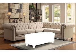 Tufted Sectional Sofas Product Reviews Buy 1perfectchoice Roy Button Tufted