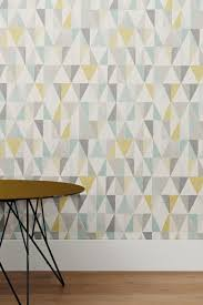 on trend textured geo triangle design wallpaper from next like the