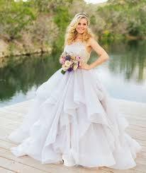tulle wedding dress 38 stunning layered tulle wedding dresses happywedd com