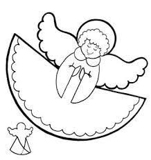 angel appears to mary coloring page sunday pinterest