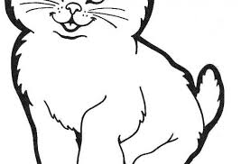 tag cute kitten pages cute cat coloring free pages