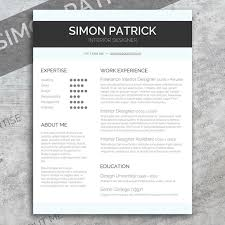 smart word cv u0026 cover letter resume templates creative market